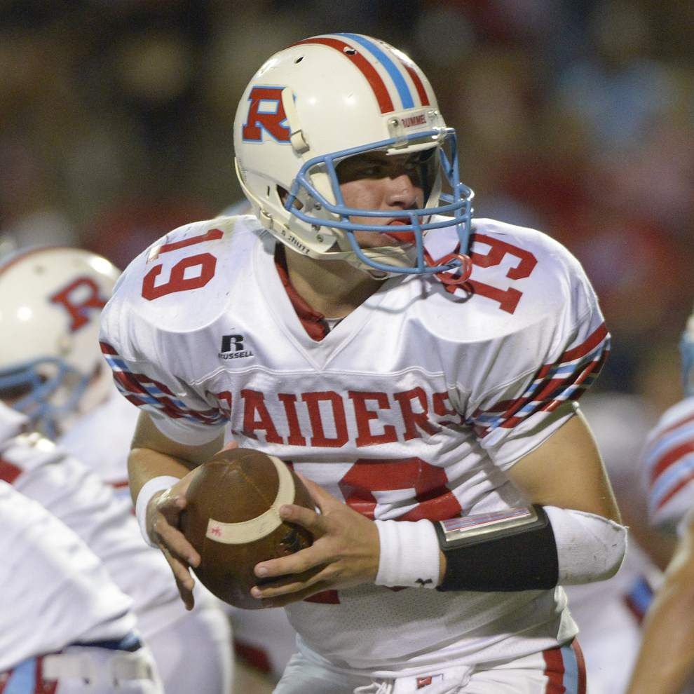 Rummel quarterback Chase Fourcade commits to Nicholls State _lowres