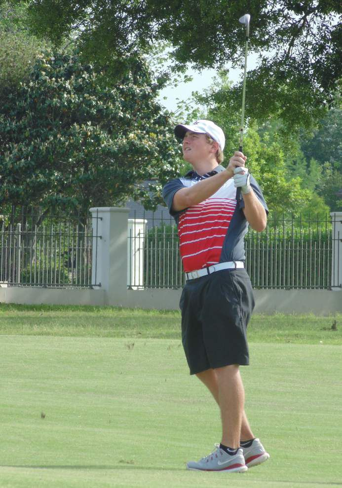 St. Thomas More, Catholic-New Iberia's Micah Goulas take honors at Acadiana Area golf event _lowres