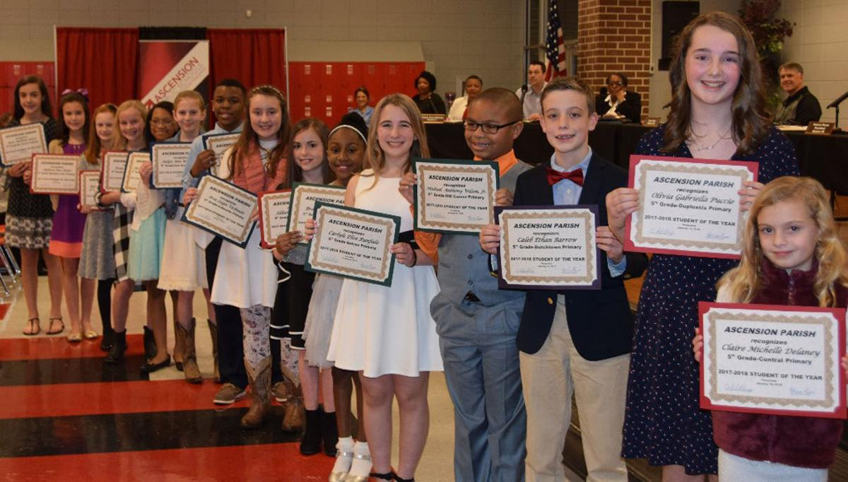 Ascension_Parish_2017-18_Fifth_Grade_Students_of_the_Year