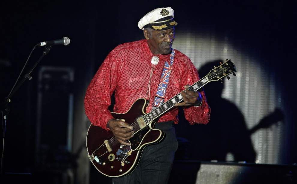 Music legend Chuck Berry has no plans to retire _lowres