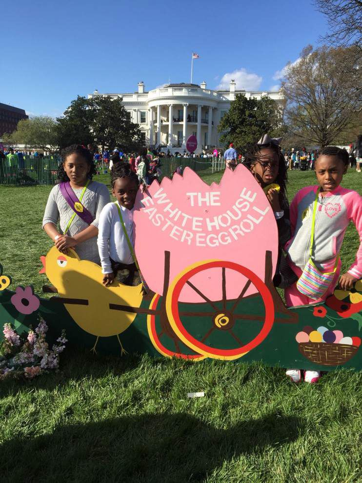 La. kids get 'trip of a lifetime' to White House Easter Egg Roll _lowres