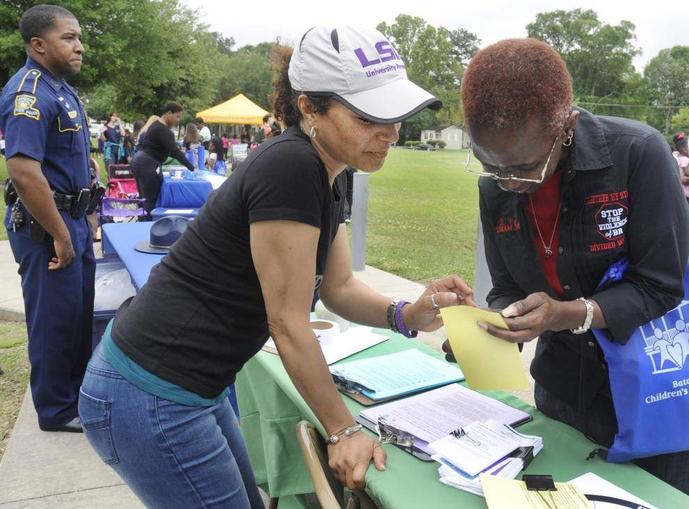 Picnic offers forum for Baton Rouge crime victims to share stories, learn about resources _lowres