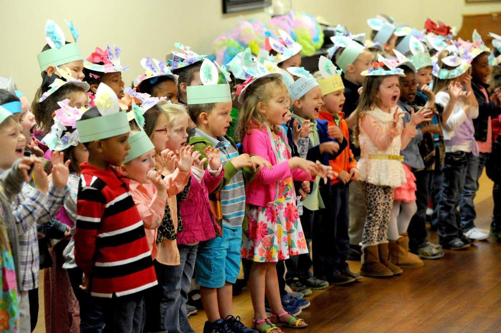 Slaughter pre-K students visit health & rehab center _lowres