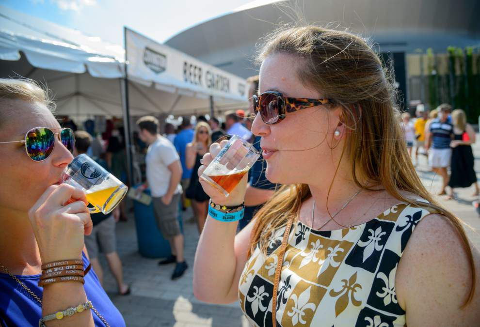 Photos: New Orleans hosts Beer Festival in Champions Square _lowres
