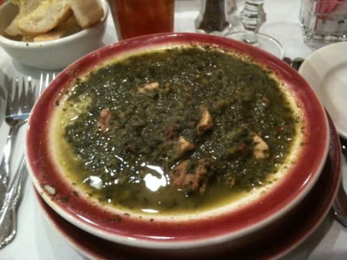 Gumbo z'herbes, and Holy Thursday at Dooky Chase_lowres