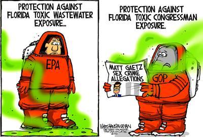 Walt Handelsman: Toxic Exposure