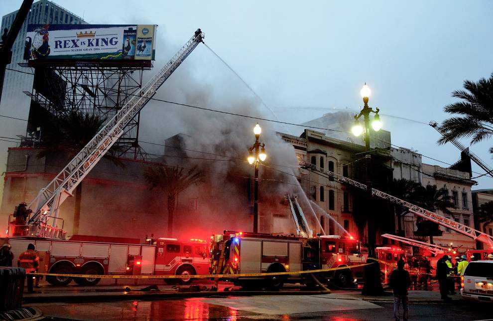 Live coverage: Latest info, photos, videos, more on Canal Street blaze in downtown New Orleans _lowres