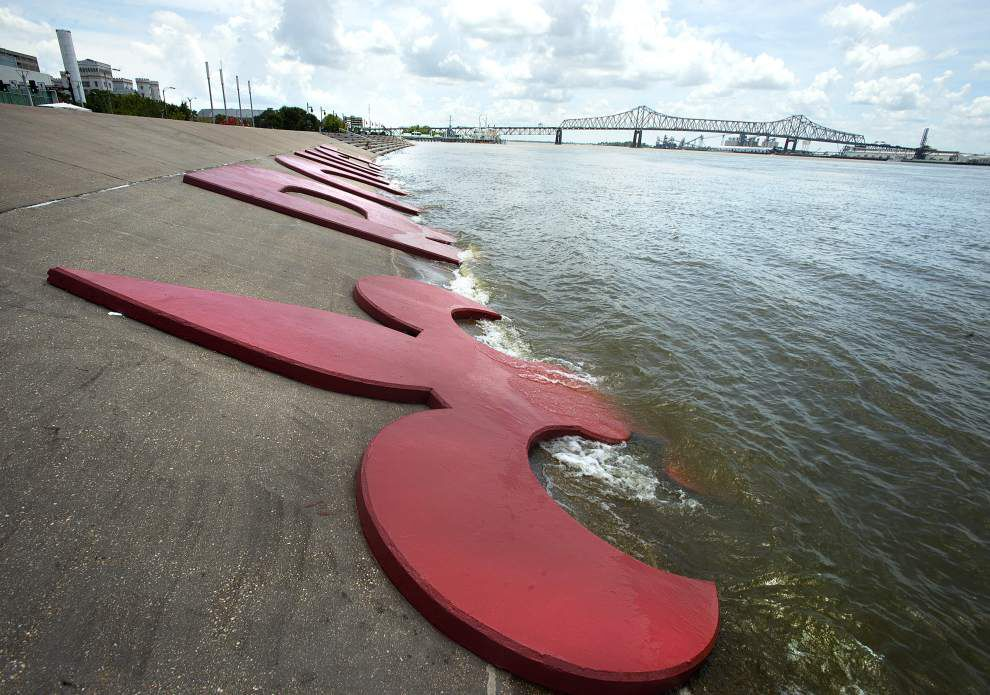 Mississippi, Atchafalaya rivers expected to crest soon as water levels begin slow fall _lowres