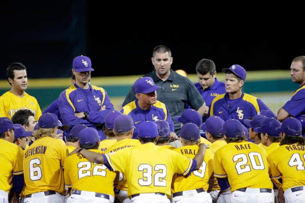 LSU baseball pregame: Tigers vs. Houston in Baton Rouge regional final _lowres