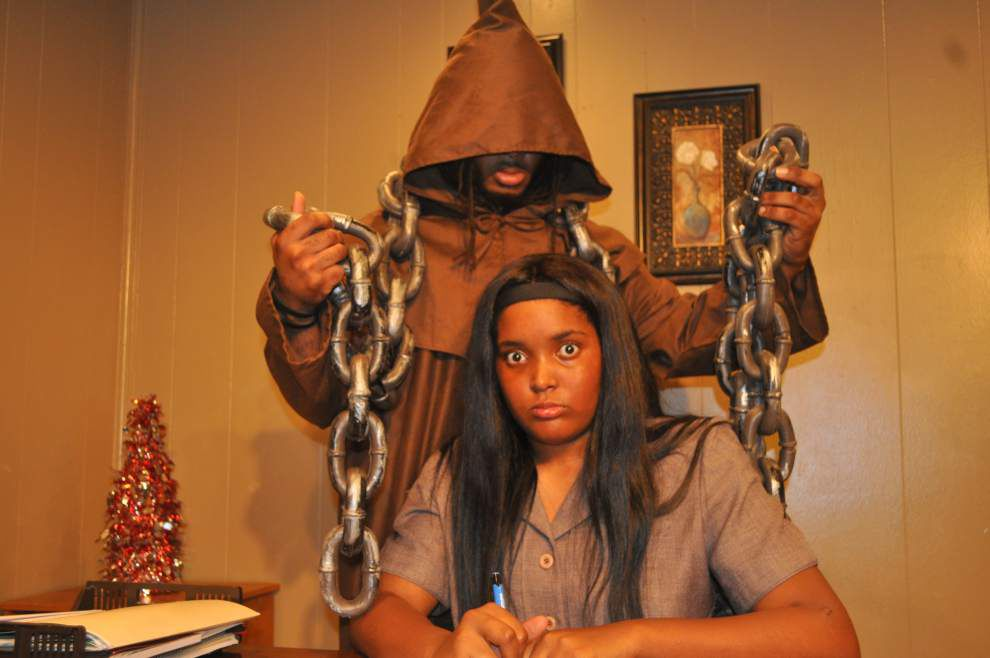 UpStage Theatre's production of 'It's Ebony Scrooge' offers modern take on a classic favorite _lowres