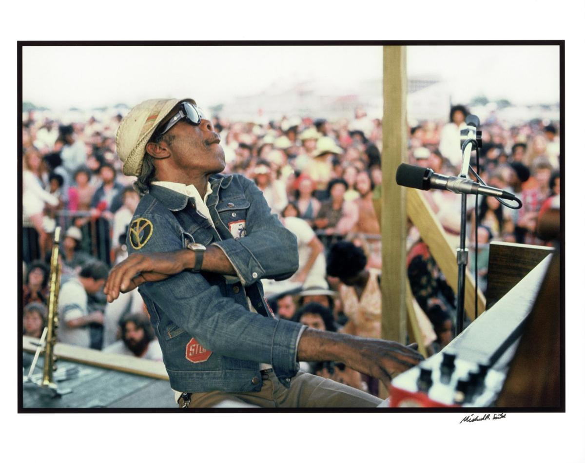 "Henry Roeland Byrd ""Professor Longhair"" at the New Orleans Jazz Festival"