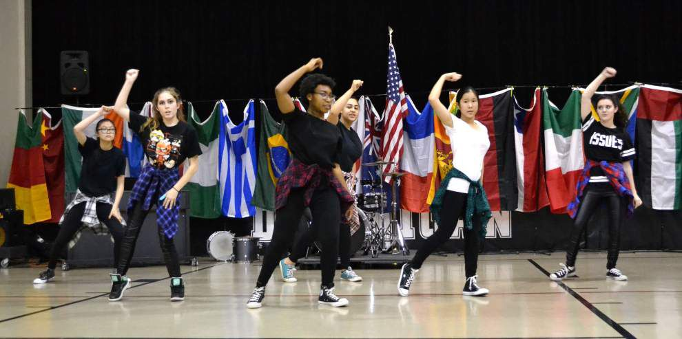 St. Mary's Dominican High School holds multicultural festival _lowres