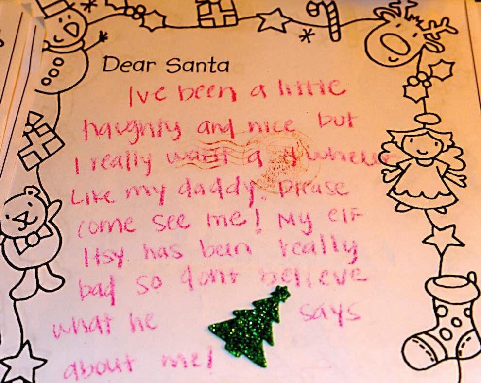 Dear Santa ... Children write letters to the North Pole _lowres