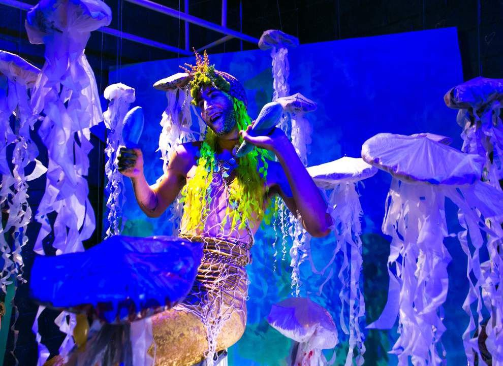 'Splish' is part art installation, part theatrical extravaganza, and — this being New Orleans — part cocktail party _lowres