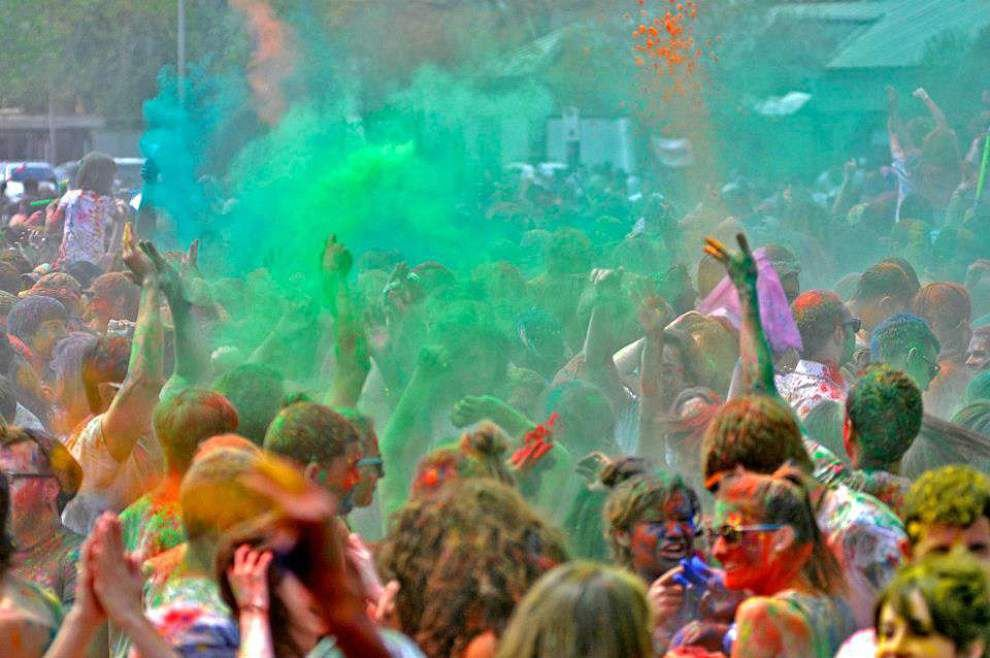 Colorful Indian festival of Holi to be celebrated Saturday at Girard Park in Lafayette _lowres