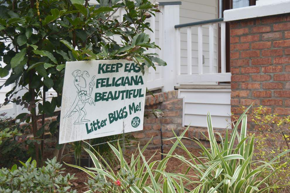 East Feliciana group seeks funds for anti-litter signs _lowres