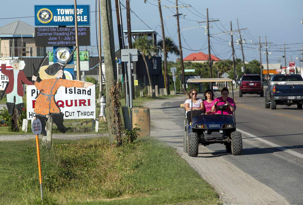 'It's that kind of place': Grand Isle's struggles mount with drugs, undersized shrimp, arrests of half its cops _lowres