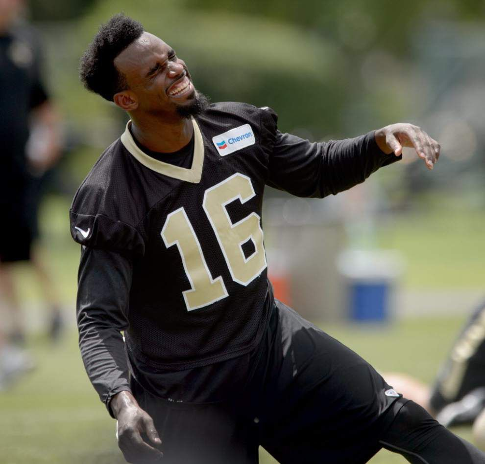 Saints' young receivers working to master nuances of the offense, get on same page as Drew Brees _lowres