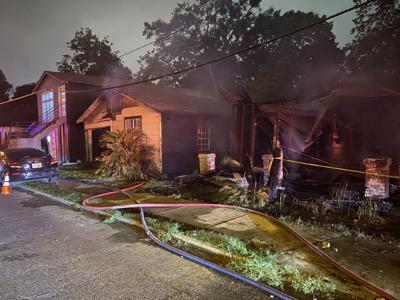 Eddie Robinson Drive arson