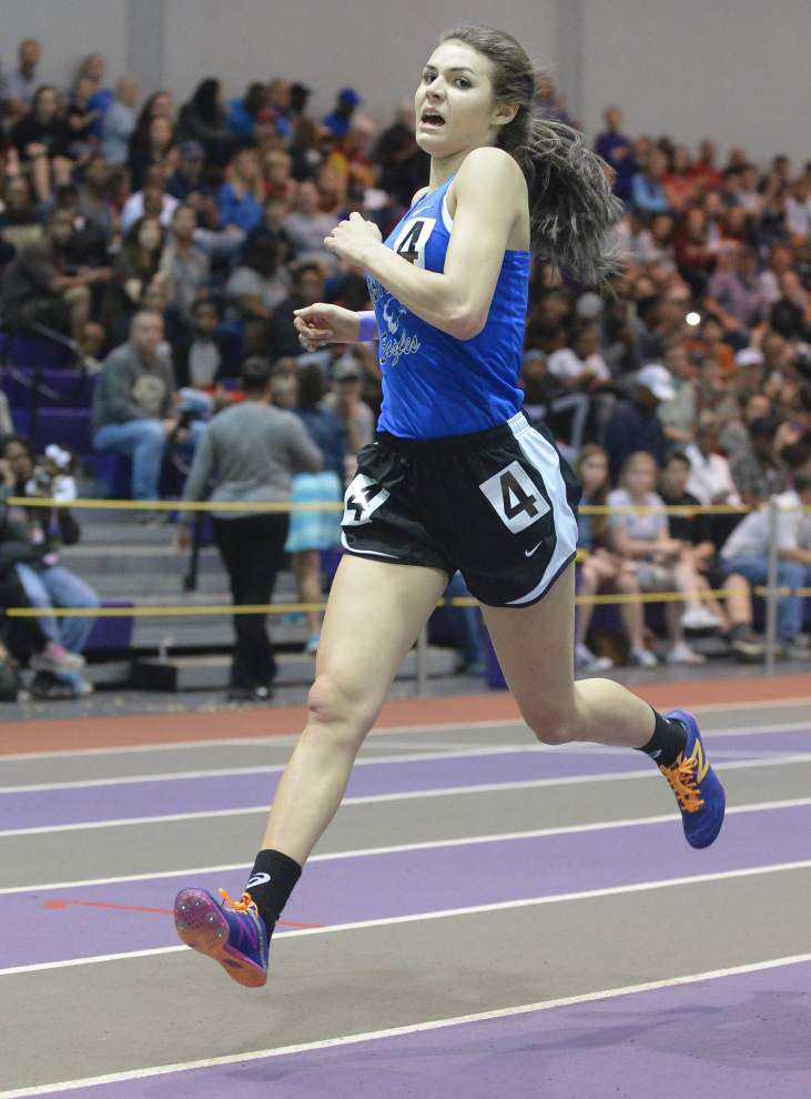 Last leg of Gabrielle Jennings' highly-decorated prep running career at Thursday's state track meet for Class B, C _lowres