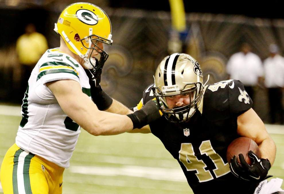 Photos: Packers vs Saints, pregame and game action _lowres