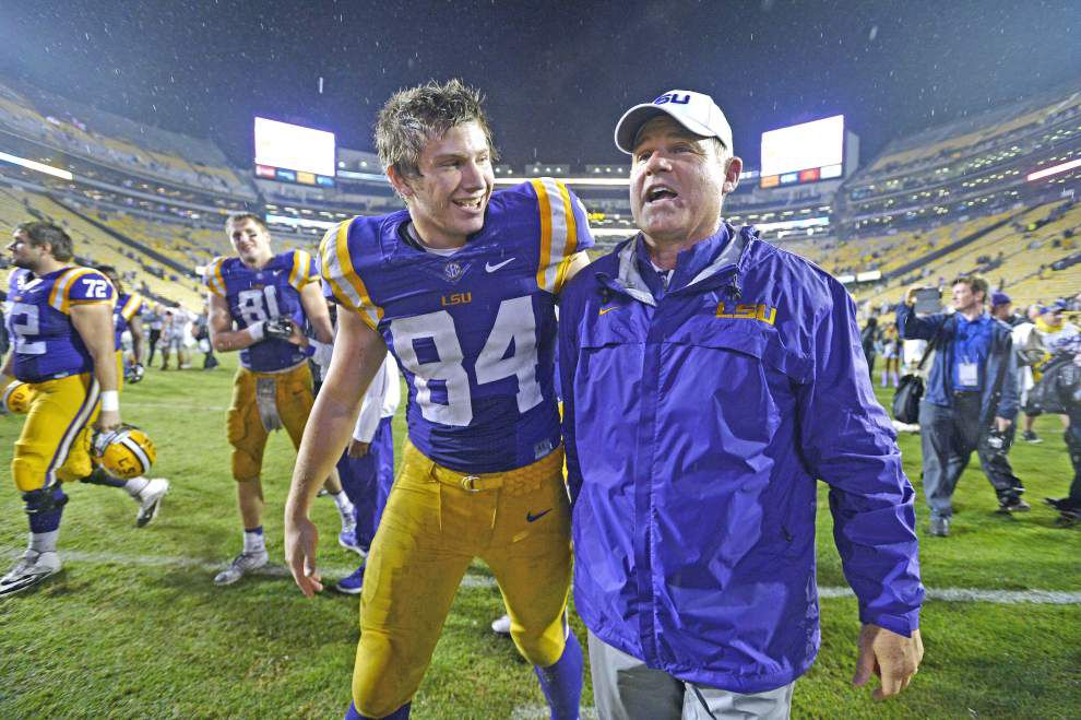 Scott Rabalais: No matter how next 2 weeks unfold for LSU, Les Miles will keep doing it his way _lowres