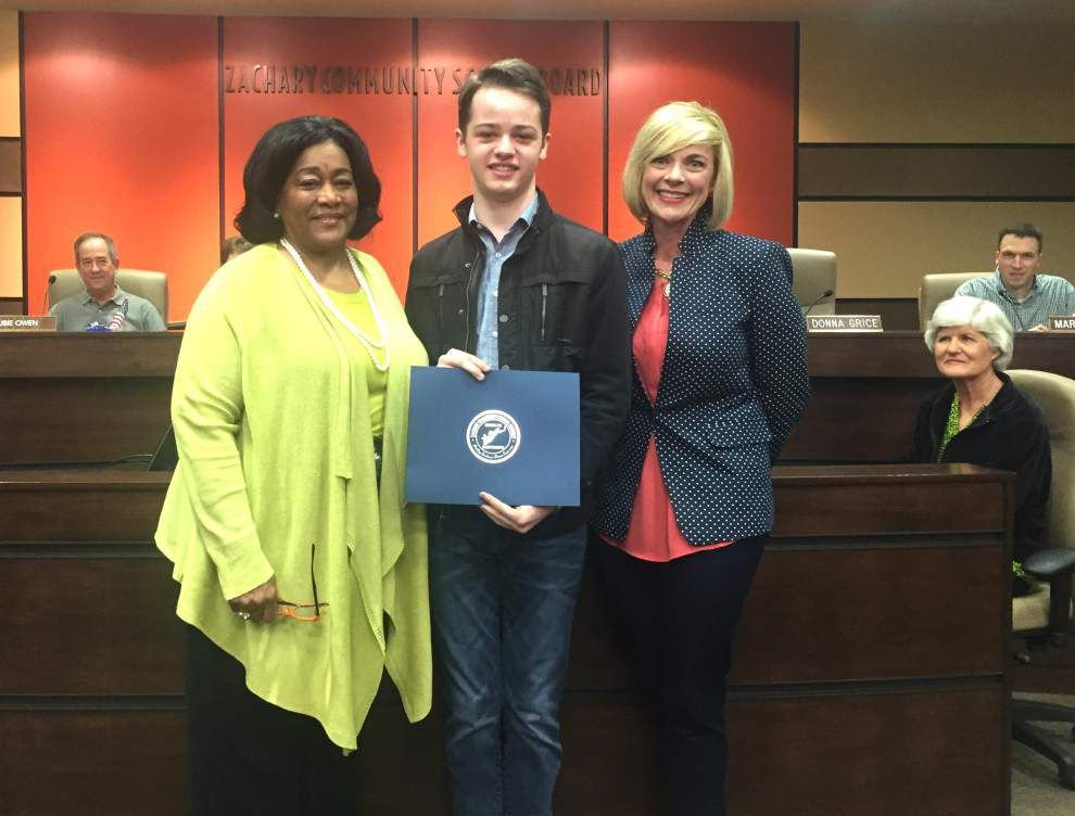 Drama student honored _lowres