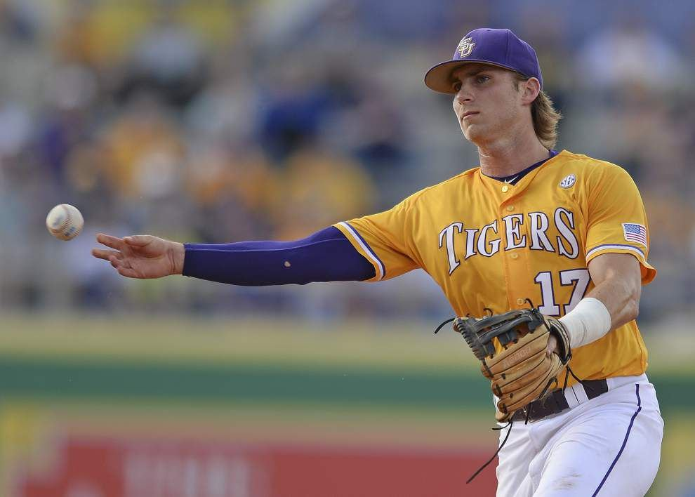 LSU second baseman Jared Foster ineligible for rest of the season _lowres