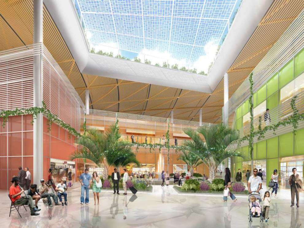 Construction on new terminal at New Orleans airport, largest project in city's history, to begin in January _lowres