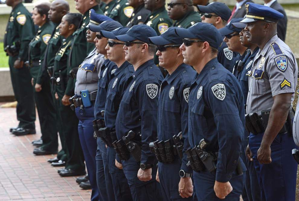 Baton Rouge ceremony honors law enforcement officers killed in the line of duty _lowres