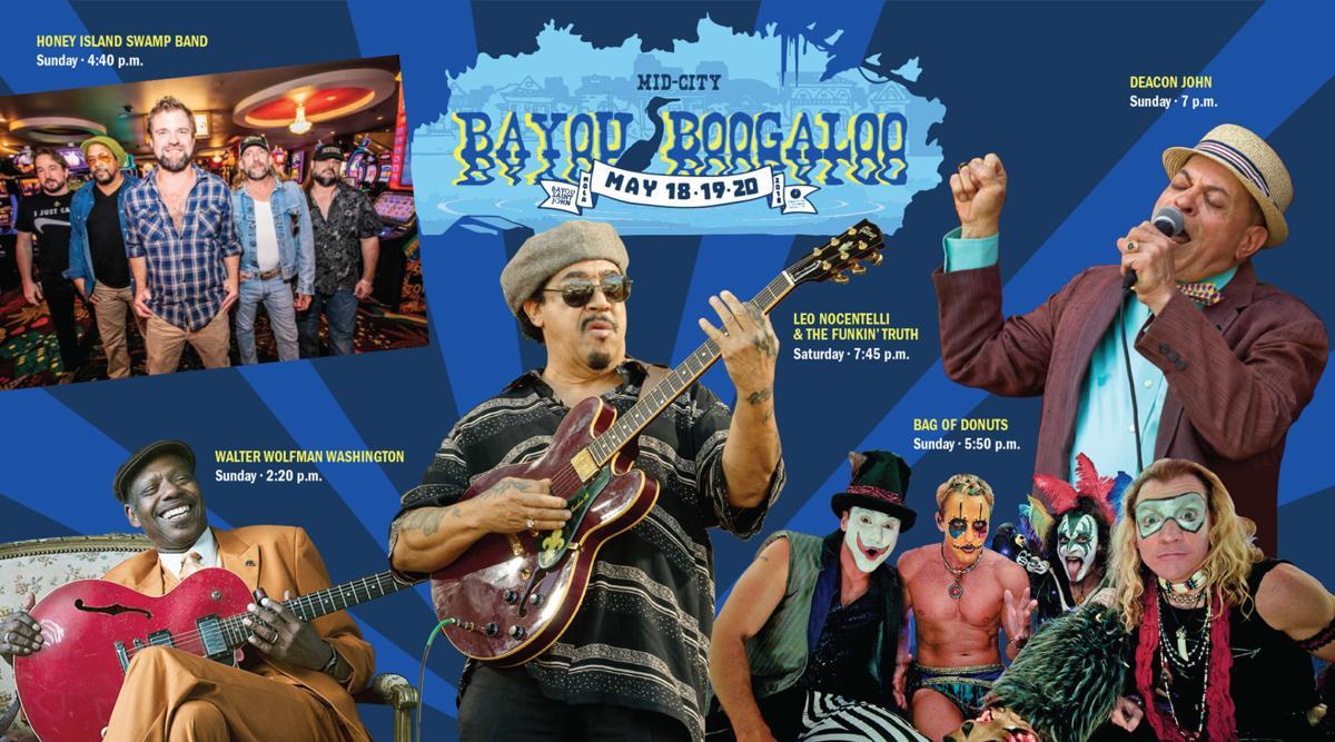 Bayou Boogaloo 2018 collage