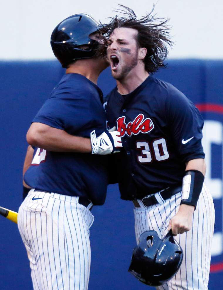 Will Allen keeps Ole Miss strong at catcher _lowres