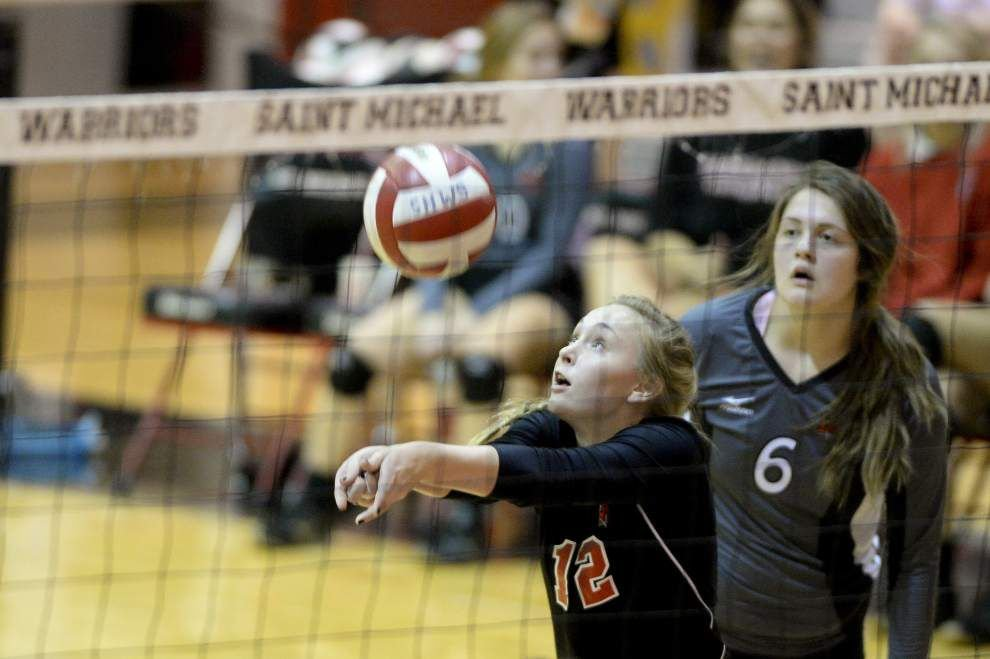 Baton Rouge volleyball contingent win away from state tournament _lowres