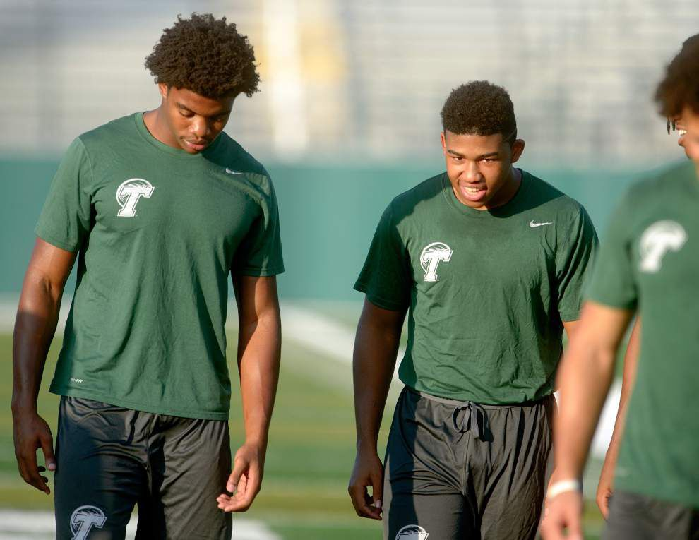 Early-arriving freshman class is big for Tulane football _lowres