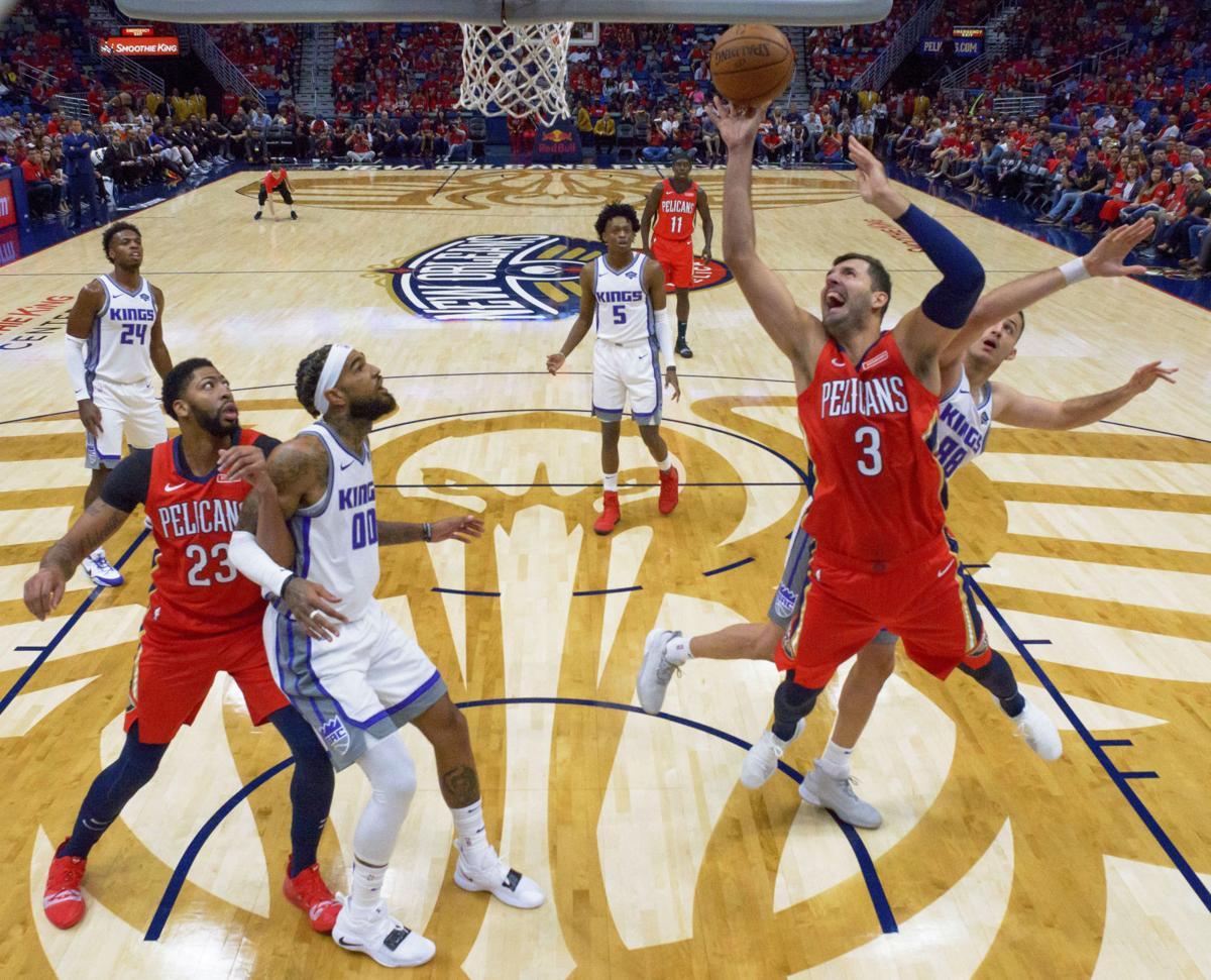 Kings Pelicans Basketball