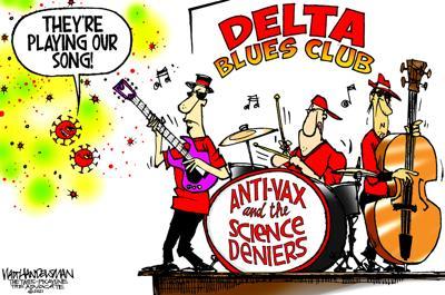 Walt Handelsman: Delta Blues