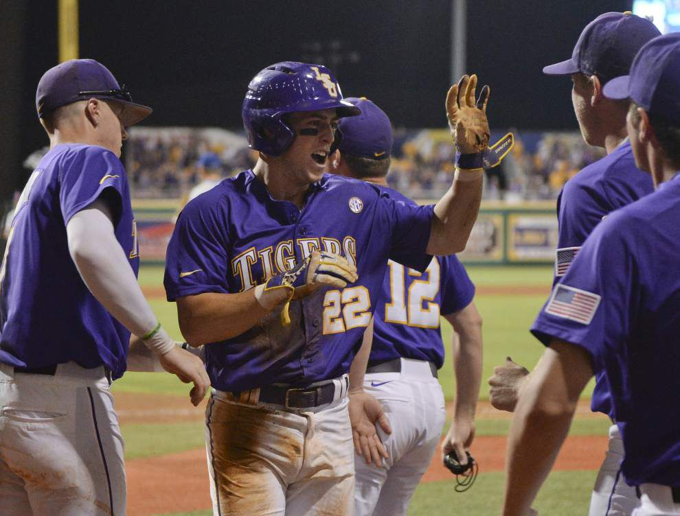 Second basemen Cole Freeman to return to LSU for senior season, keeping middle infield intact _lowres