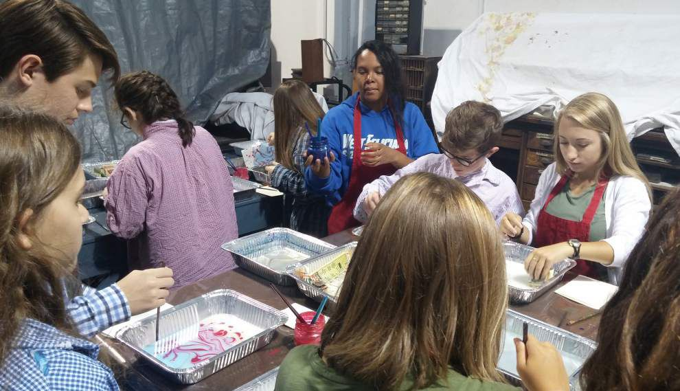 The science of art: West Feliciana High students explore another perspective of the trade _lowres