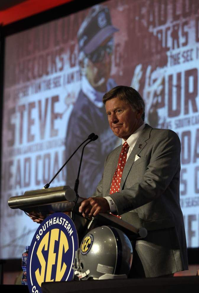 Steve Spurrier remains confident — even as he enters Year 23 in the SEC _lowres