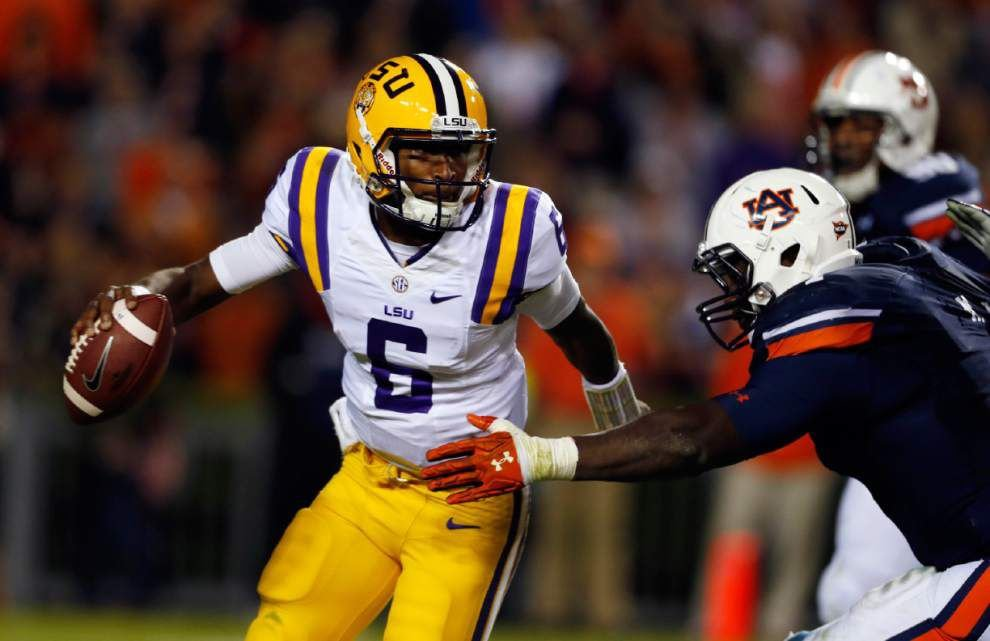 Just like high school? LSU QB Brandon Harris meets the team Saturday that ruined his college debut _lowres