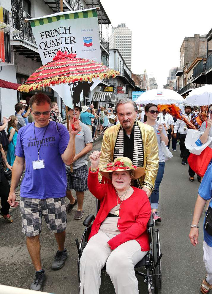Photos: Brass band, second line, big crowd help French Quarter Fest off to great start _lowres