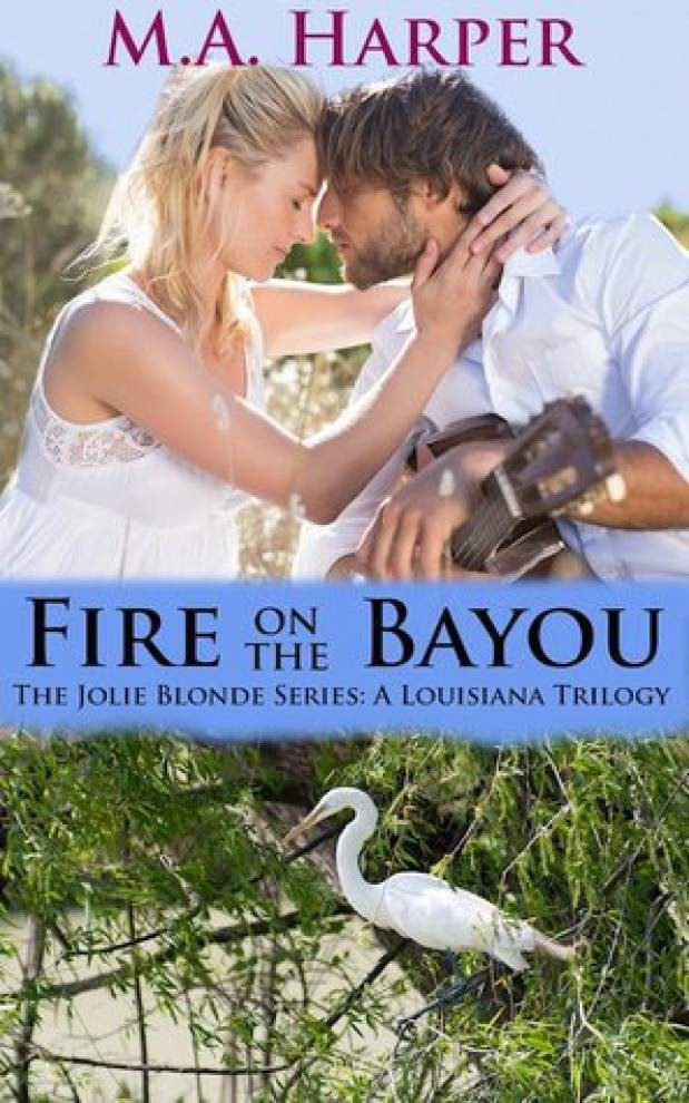 'Fire on the Bayou' more than just a romance novel _lowres