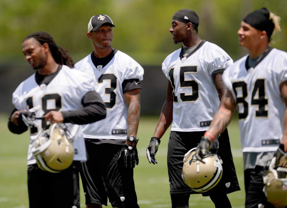 Saints release training camp schedule _lowres