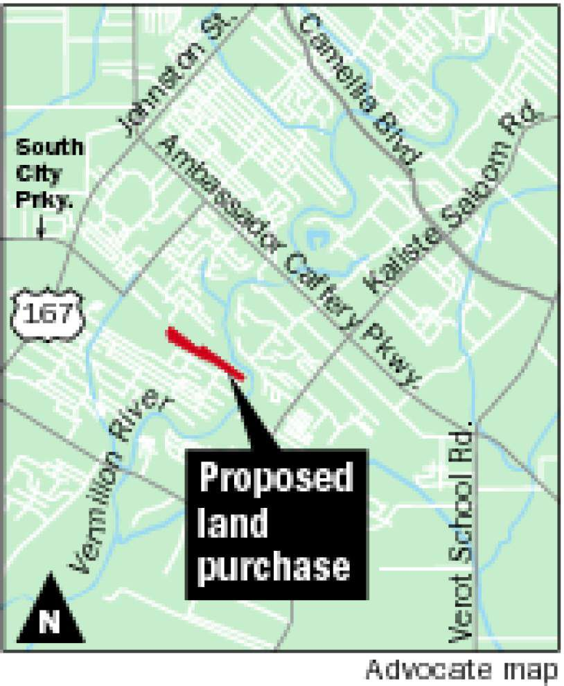 Lafayette city-parish administration may start buying rights-of-way for South City Parkway extension, but parish President-elect Robideaux not totally sold on the project _lowres