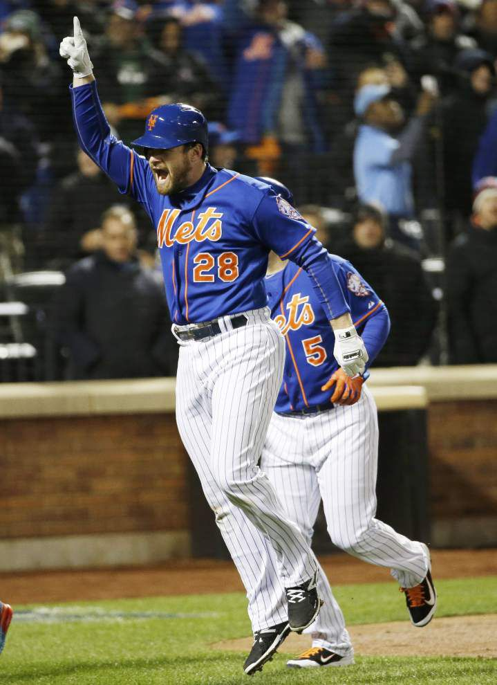 Mets get to Jake Arrieta, and Noah Syndergaard cruises as New York wins 4-1 for 2-0 edge in NLCS _lowres