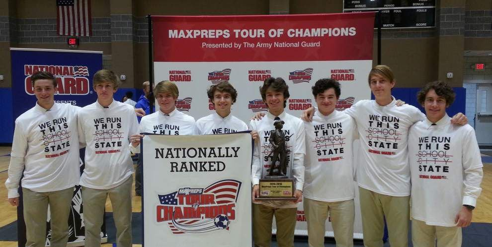 St. Paul's soccer team, which finished No. 1 nationally in MaxPreps national poll, recognized at website's Tour of Champions _lowres