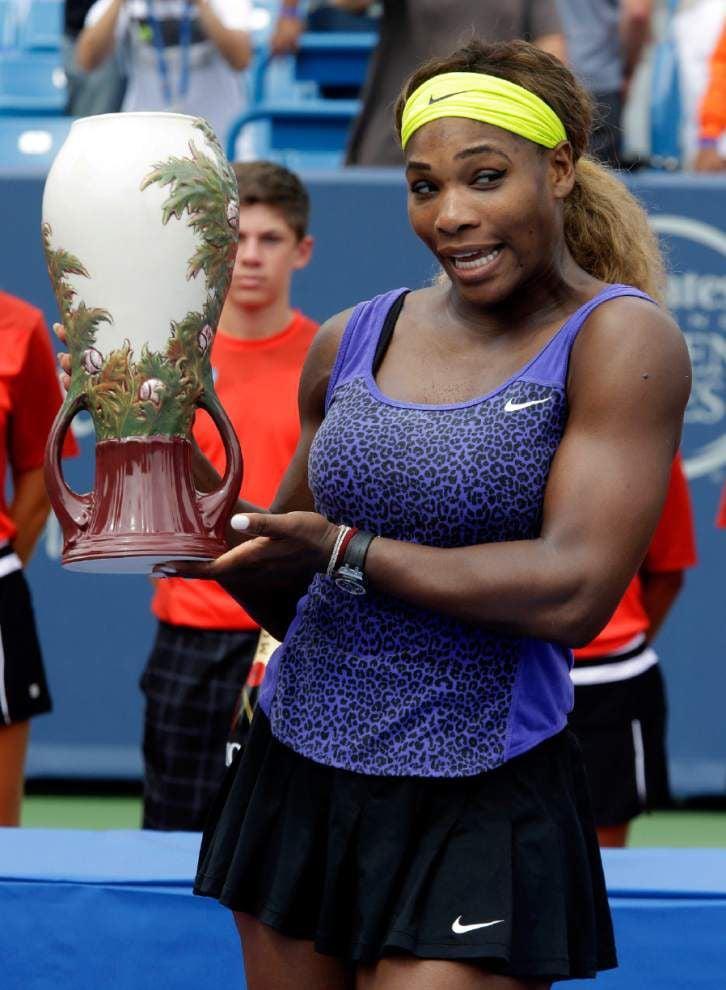 Roger Federer, Serena Williams claim titles in Cincinnati titles _lowres