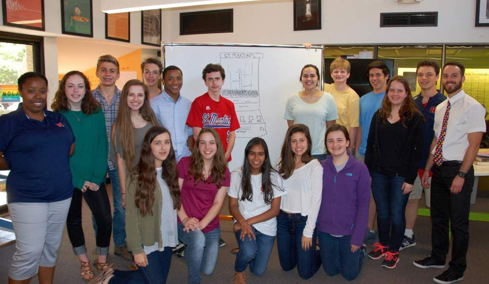 St. Martin's InvenTeam wins national recognition _lowres
