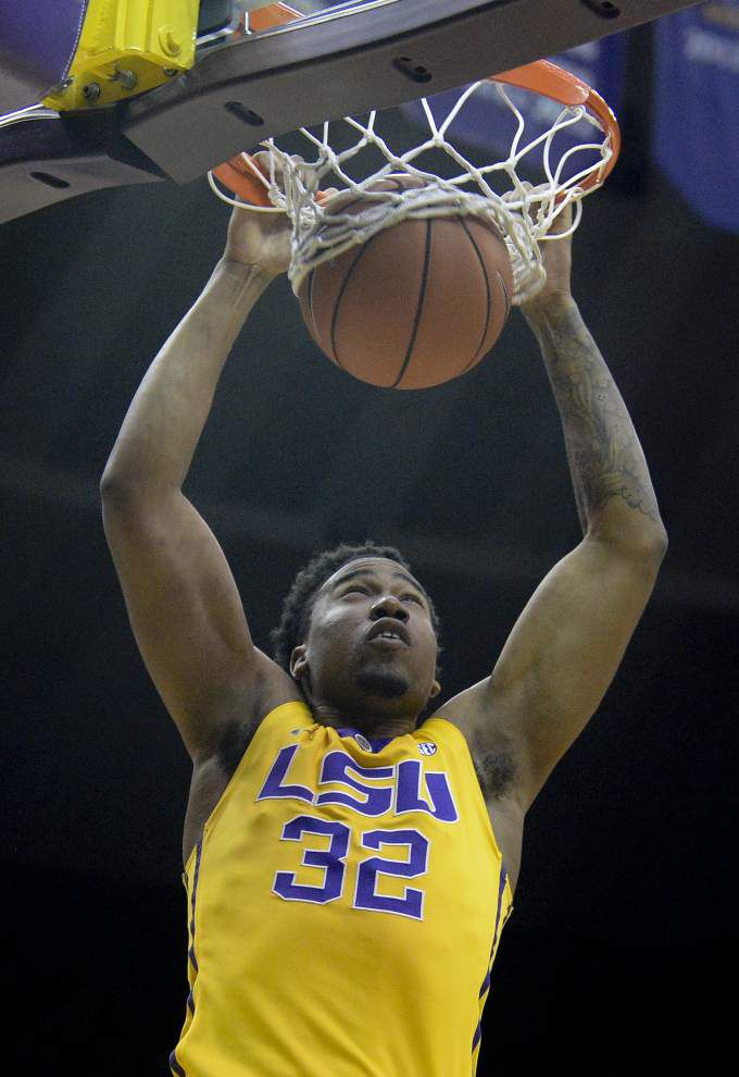Antonio Blakeney's big night leads the LSU men to a wild 96-91 win over Florida _lowres