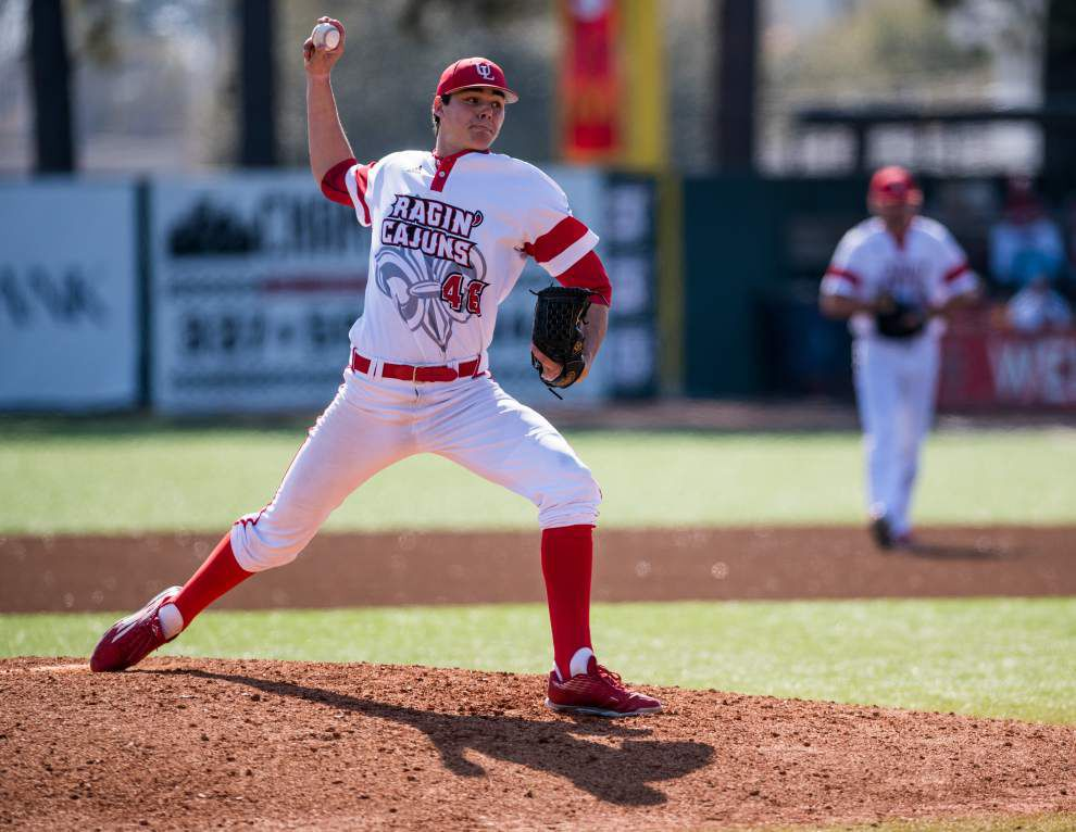 With the Ragin' Cajuns' saves record in hand, Dylan Moore vows to stay sharp _lowres